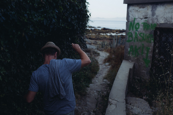 matt rivers nature walk tarifa morning