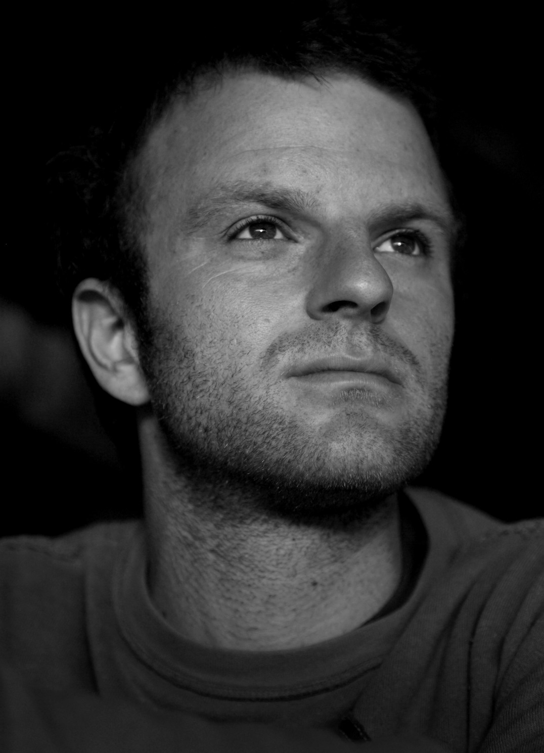Matt Rivers Portrait Brighton Pier 2007